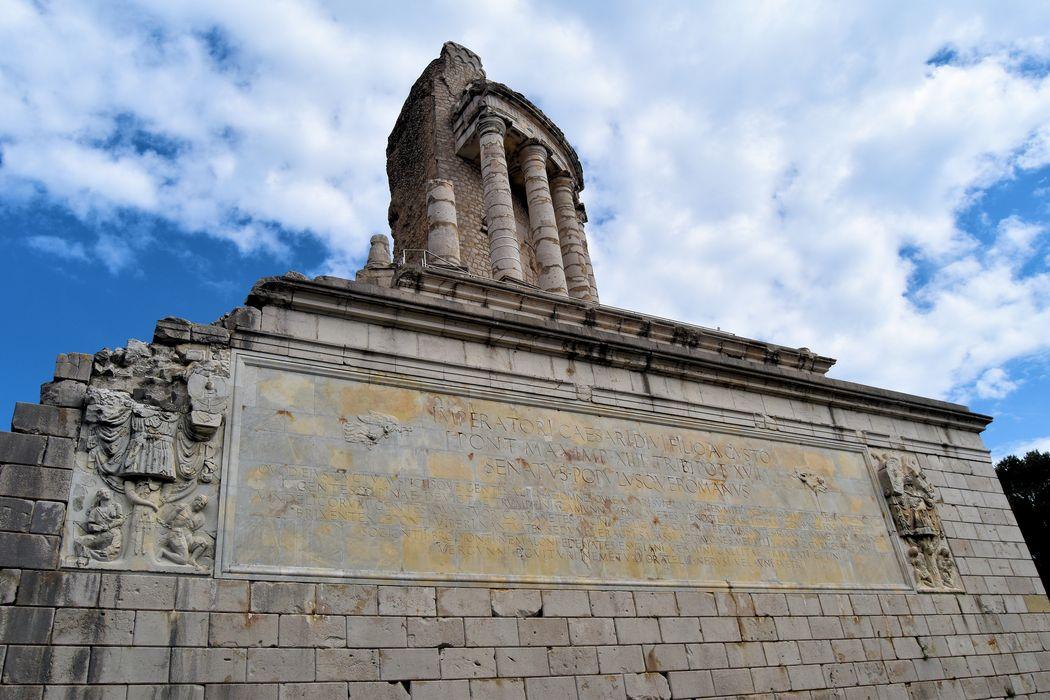 Ruines du Trophée d'Auguste: Ensemble ouest, vue générale