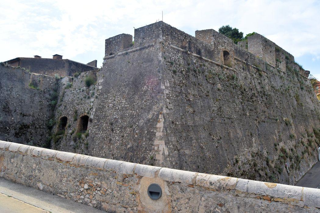 Citadelle (ancienne): Bastion n°1. Angle d'épaule droit et flanc droit