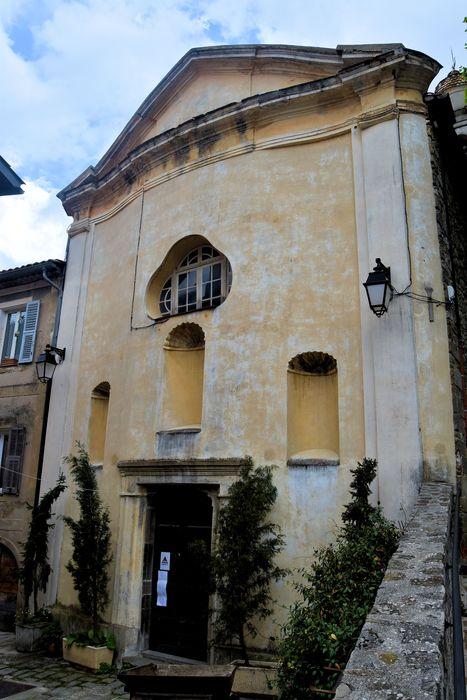 Chapelle Saint-Pierre ou chapelle des Pénitents noirs: Façade nord-est, vue générale