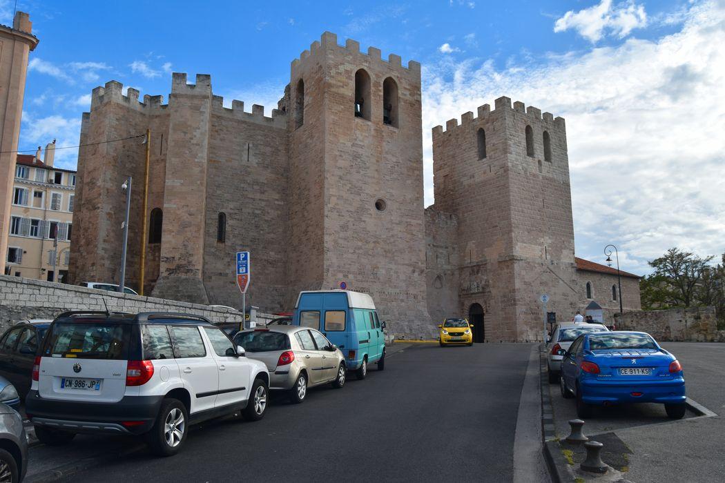 Abbaye Saint-Victor: Ensemble nord-est, vue générale