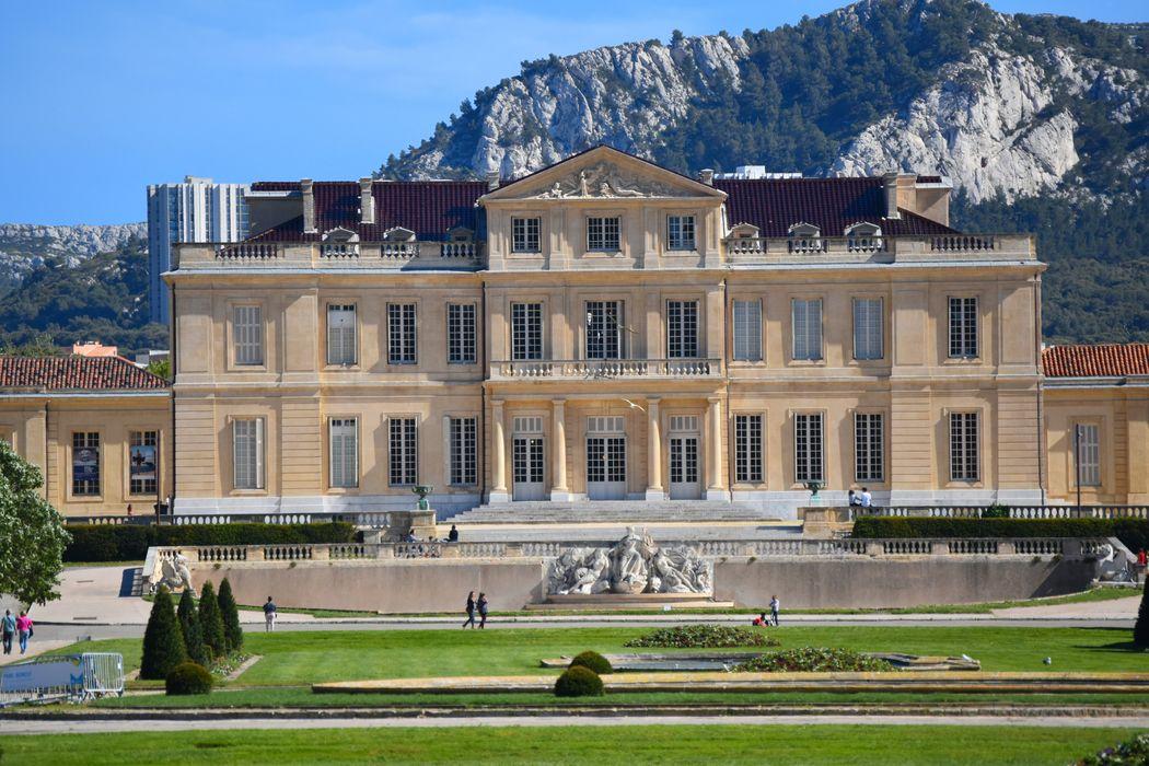 Château Borély: Façade nord, vue générale
