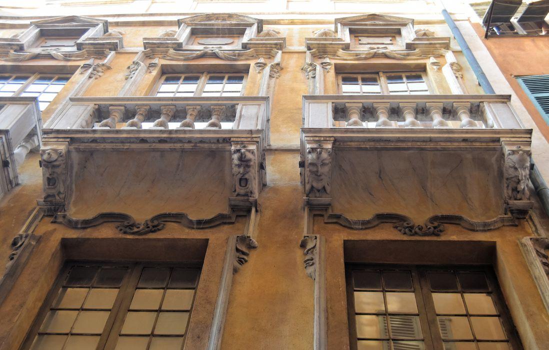 Palais Lascaris: Façade sur rue, vue partielle