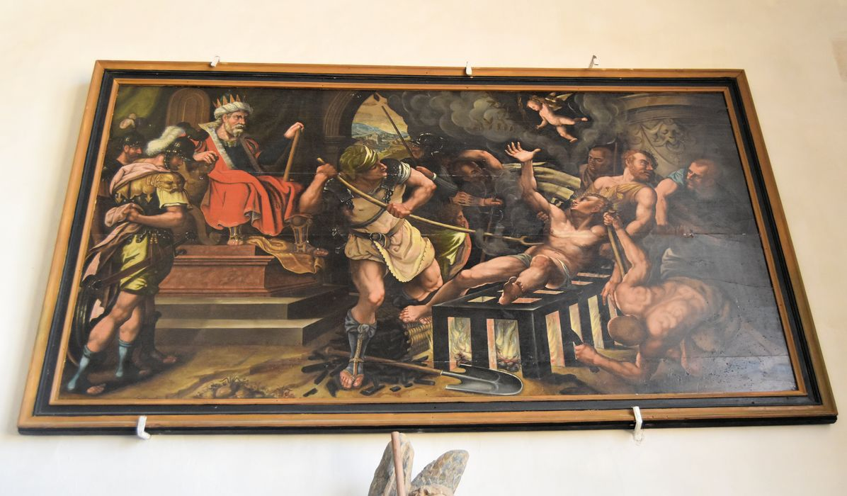 tableau: Martyre de saint Laurent