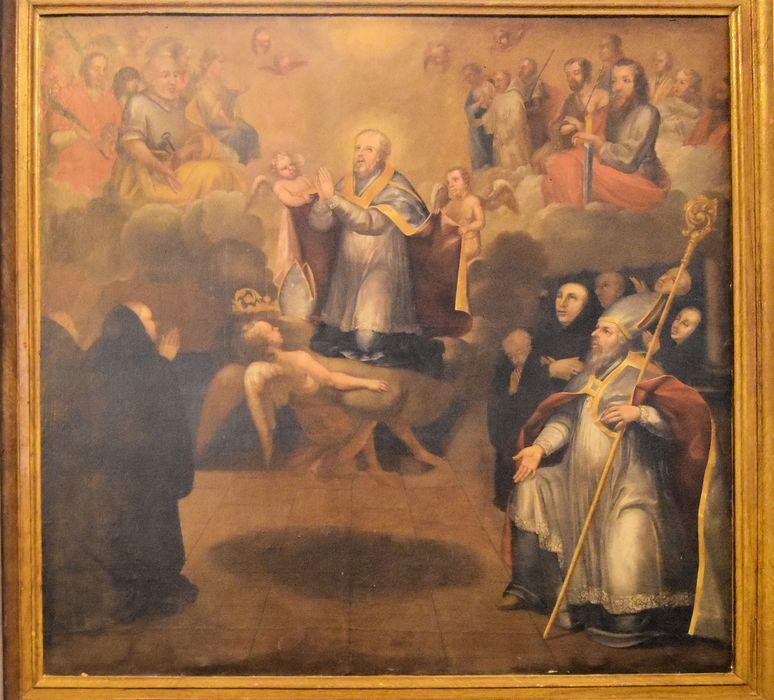 Tableau : Apothéose de saint Martin