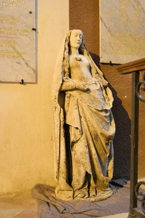 statue: Vierge à l'Enfant dite Notre-Dame de la Flotte