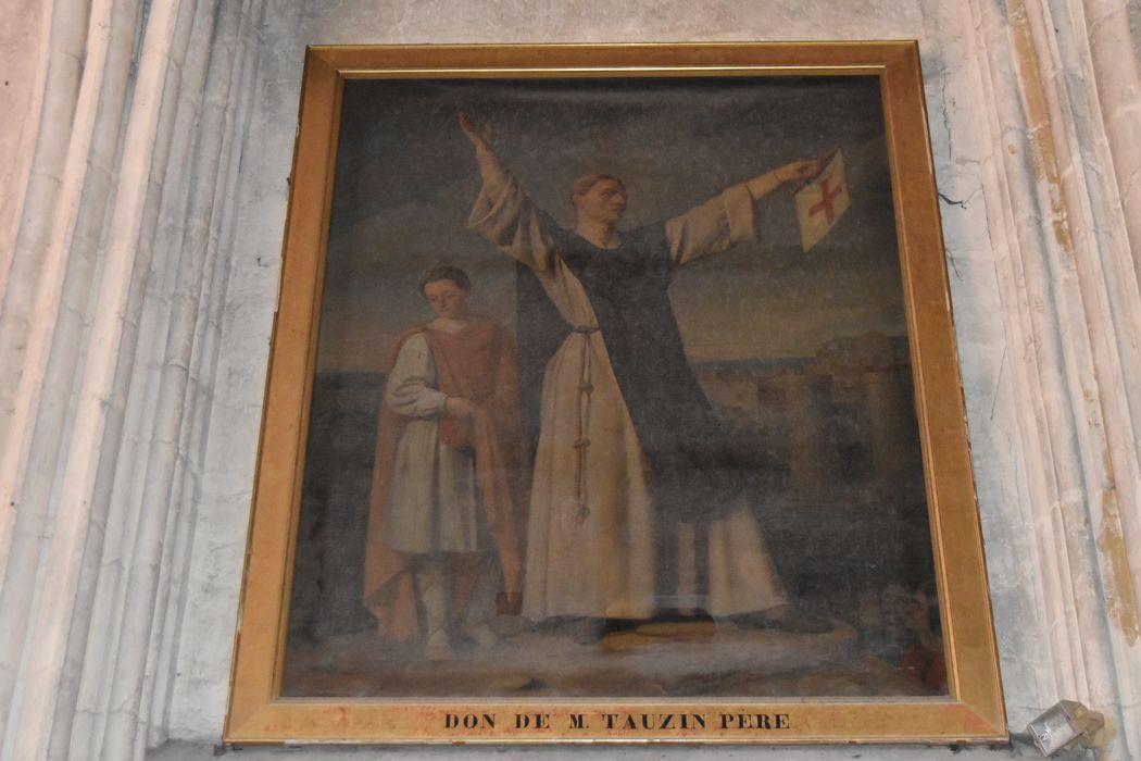 Tableau : Saint Bernard prêchant la croisade
