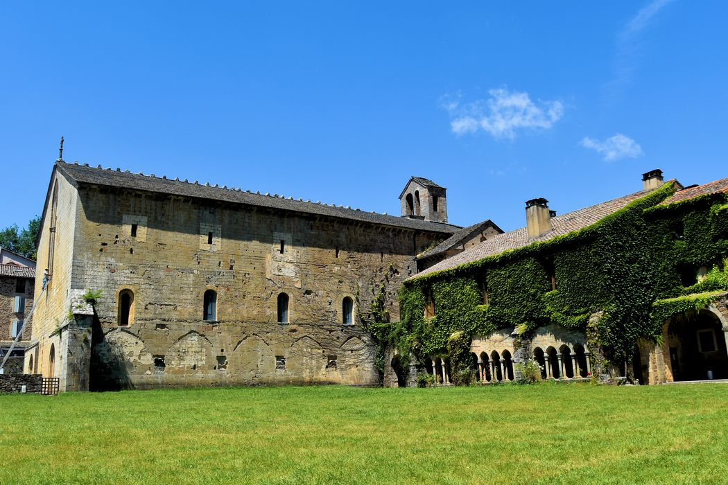 Ancienne abbaye: Ensemble sud-ouest, vue générale