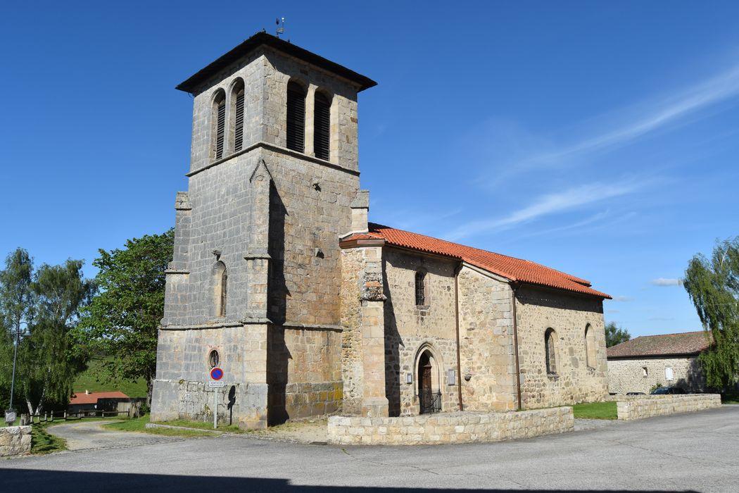 Eglise Saint-André: Ensemble sud-ouest, vue générale