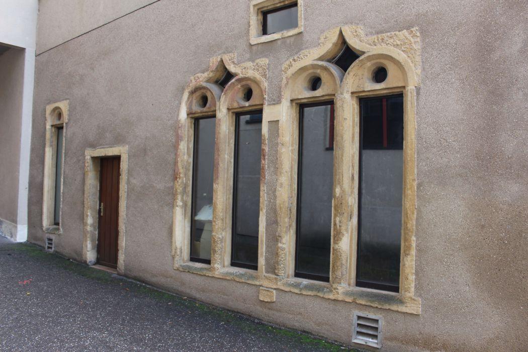 Chapelle du Petit-Saint-Jean (ancienne): Vue partielle de la façade