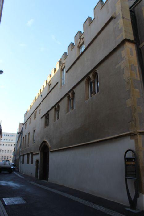 Hôtel de Gargan: Façade sur rue, vue générale