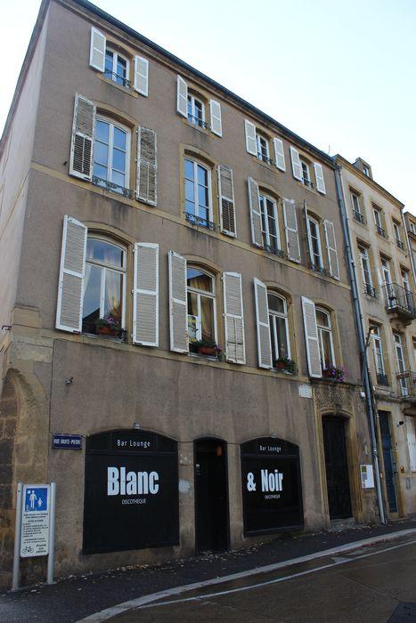 Maison natale de Verlaine: Façade sur rue, vue générale