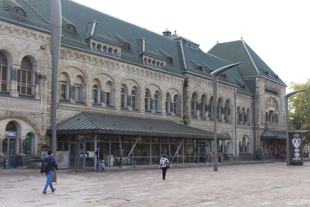 Gare: Ensemble nord-ouest, vue partielle