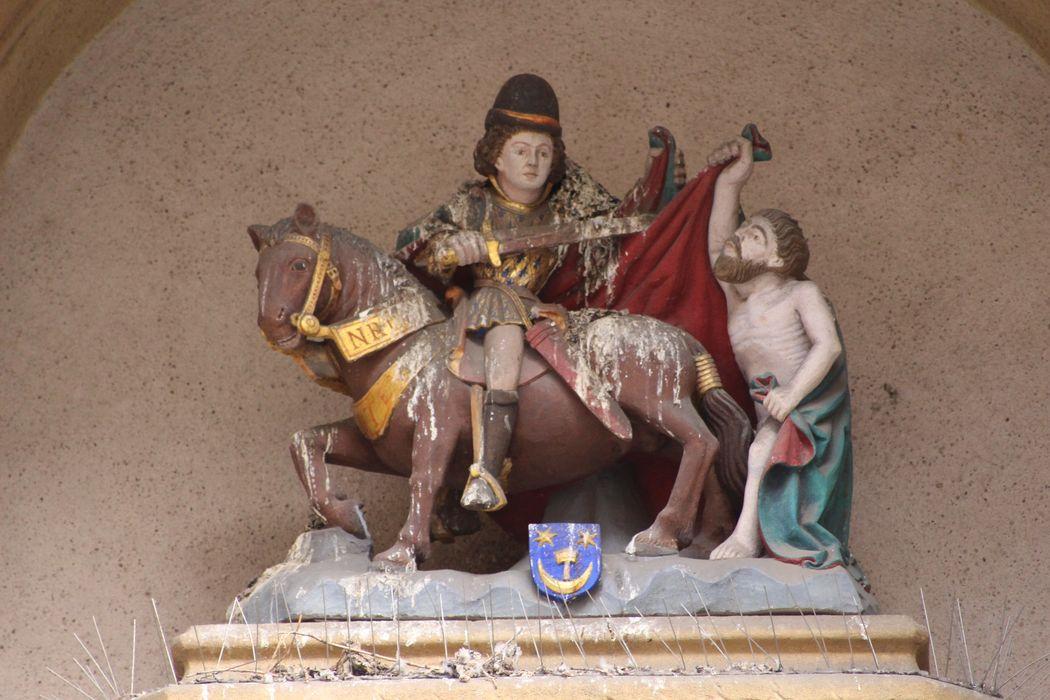 Statue : La Charité de saint Martin