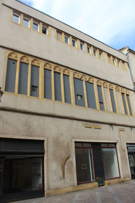 Hôtel de Heu (ancien): Façade du n°19 sur rue, vue générale