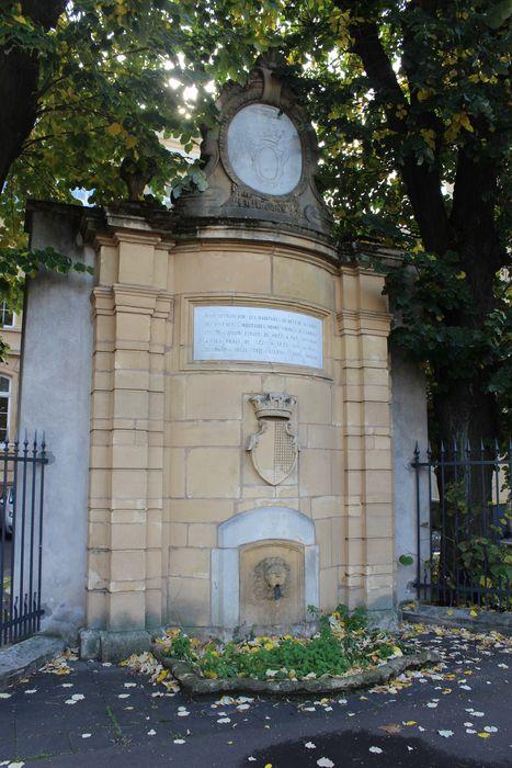Fontaine Coislin, vue générale