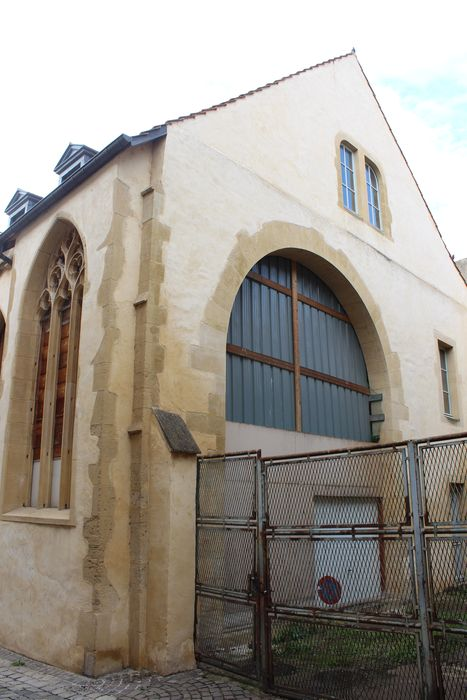 Ancienne église Saint-Etienne-le-Dépensié ou Dépenné: Chevet, vue générale