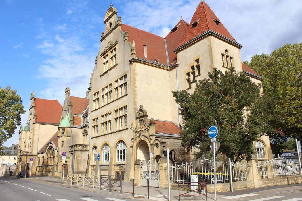 École Chanteclair-Debussy: Ensemble sud-ouest, vue partielle