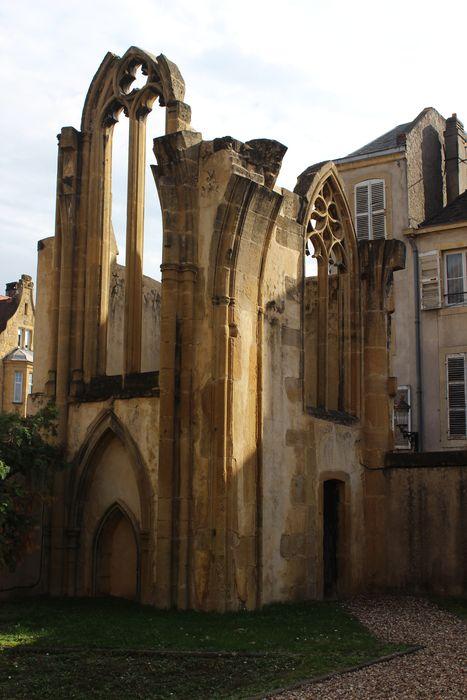 Eglise des Grands Carmes (ruines de l'ancienne): Vue générale des ruines