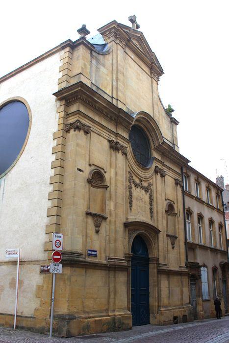 Eglise des Trinitaires (ancienne): Façade est, vue générale
