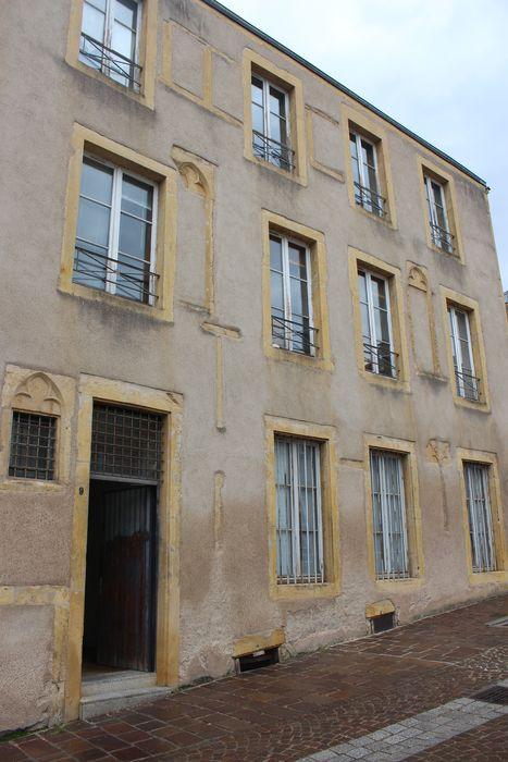 Hôtel de Malte (ancien): Façade au n°9 de la rue de Malte, vue générale