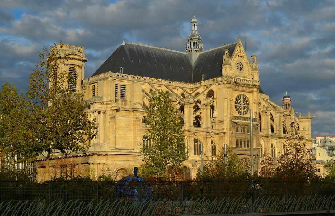 Eglise Saint-Eustache: Ensemble sud, vue générale