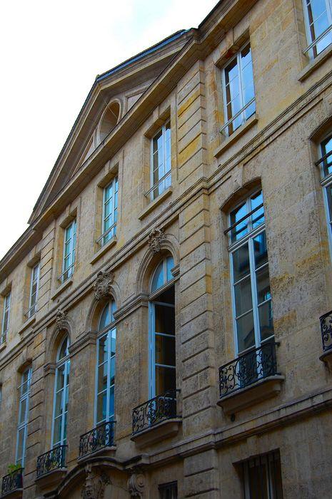 Hôtel (ancien) , dit Hôtel Le Rebours: Façade sur rue, vue partielle
