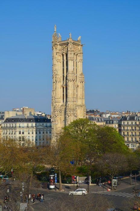 Tour Saint-Jacques, vue générale