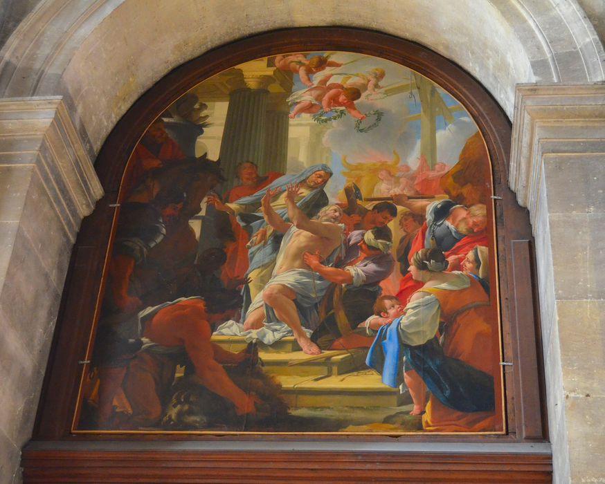 Tableau : Le Martyre de saint Eustache