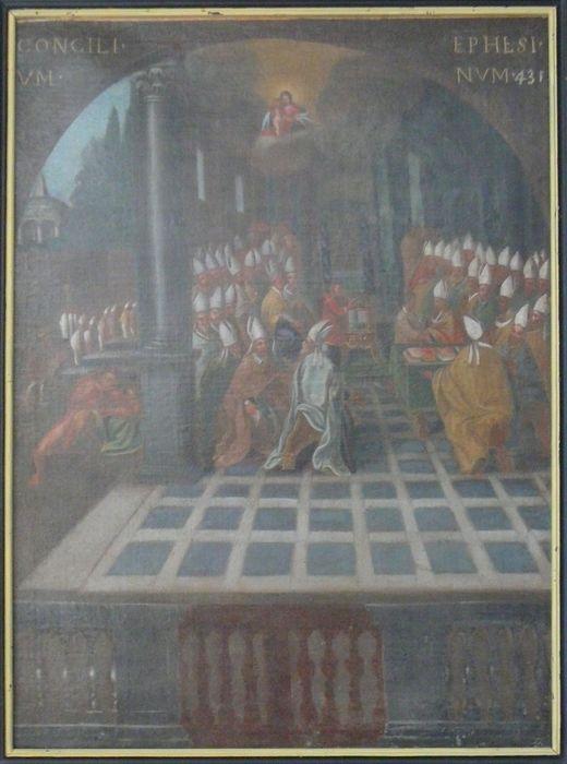 Tableau : le Concile d'Ephèse, 431