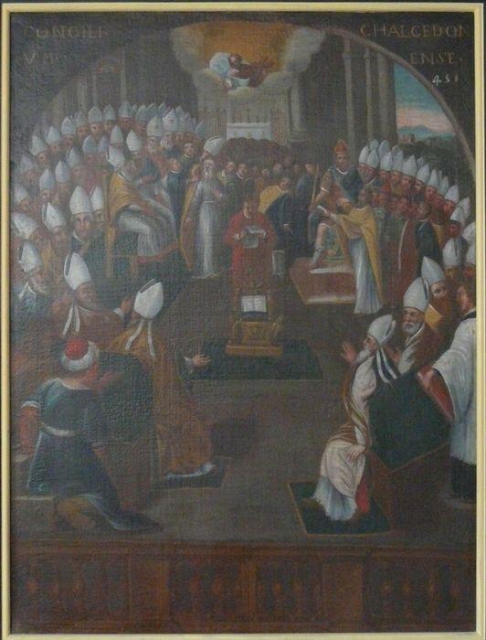 Tableau : le Concile de Chalcédoine, 451