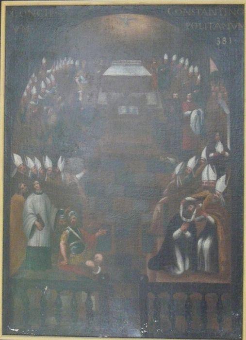 Tableau : le Concile de Constantinople, 381