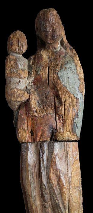 statue : Vierge noire