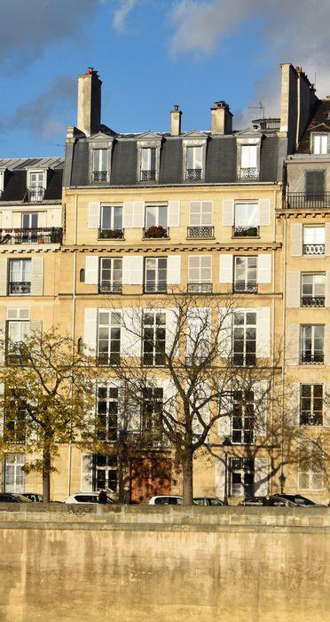 Hôtel Lefebure de la Malmaison: Façade sud, vue générale