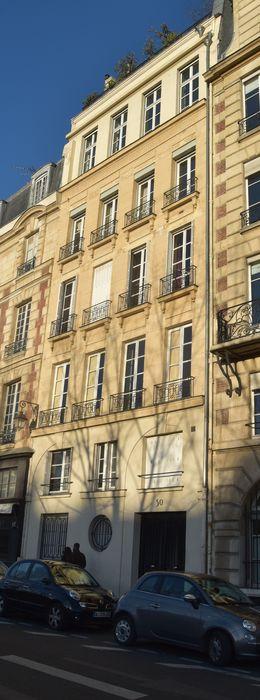 Immeuble: Façade sur le quai des Orfèvres, vue générale