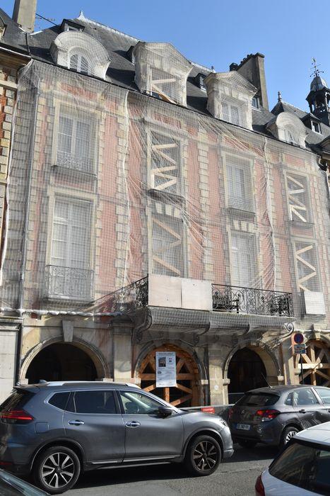Hôtel d'Asfeldt (ancien): Façade sur rue, vue générale