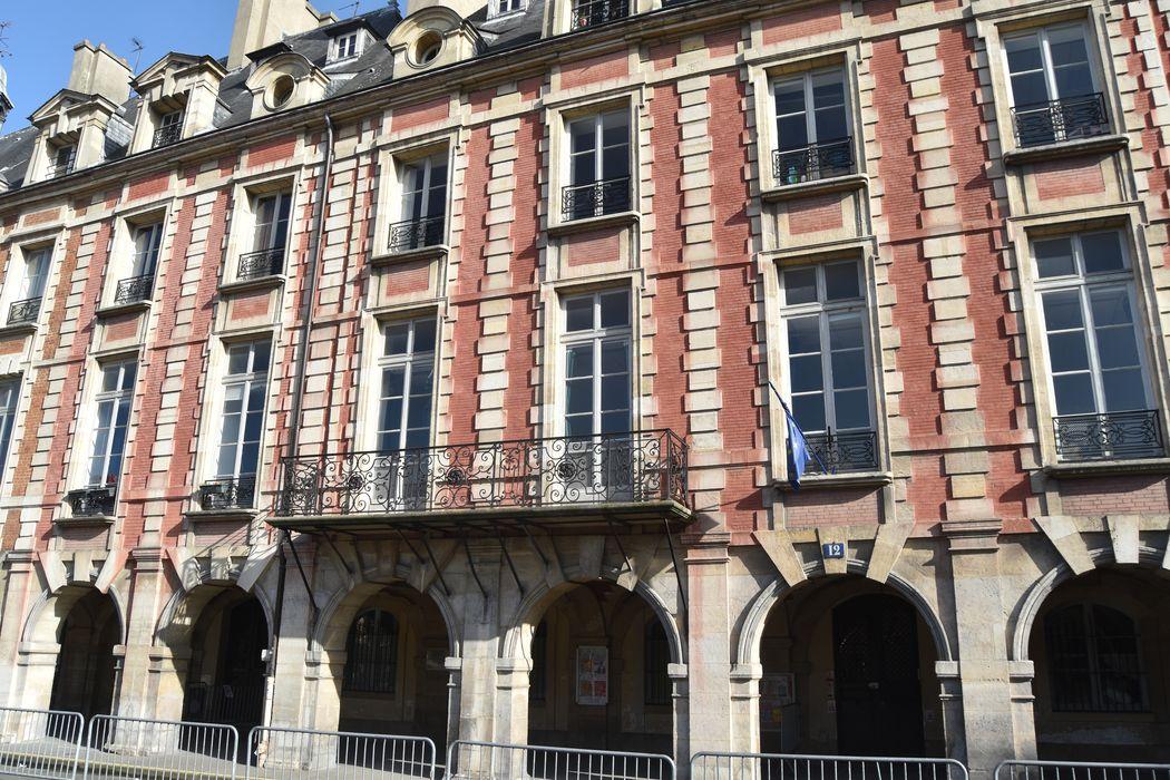 Hôtel Lafont ou de Breteuil (ancien) ou hôtel Dangeau ou de Missan ou de Sainson: Façade sur rue, vue générale