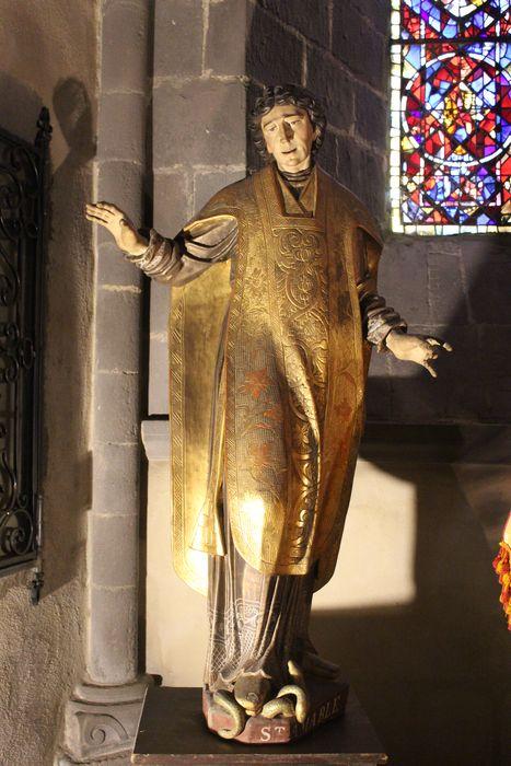 Statue : saint Amable