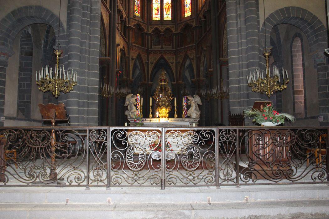 Clôture de choeur (3 grilles)