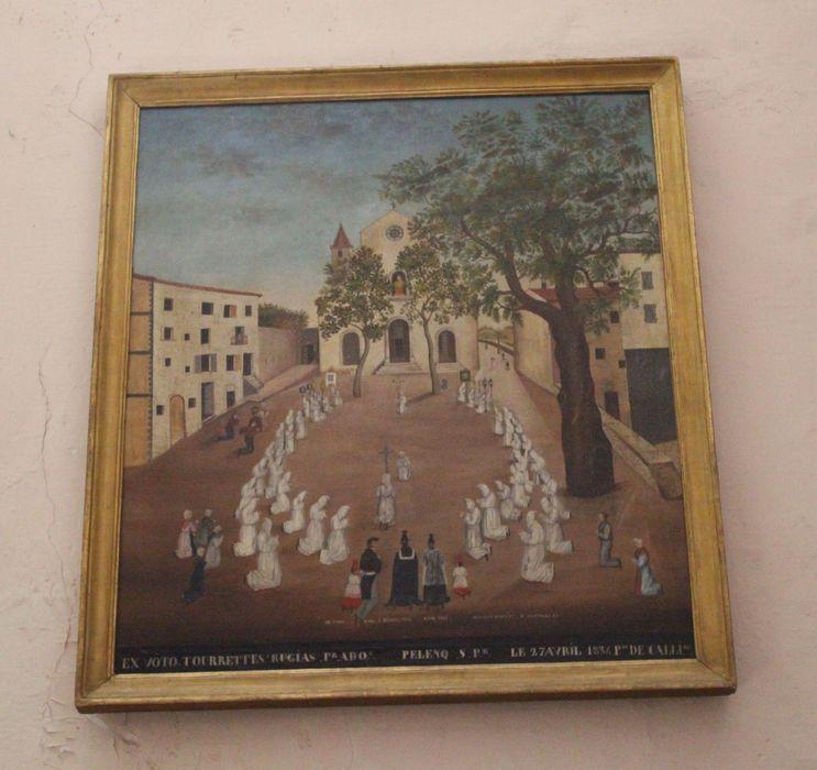 ex-voto : Tourettes Rugias, 17 avril 1834