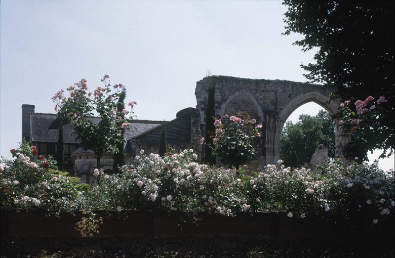 Porche en ruines et toitures