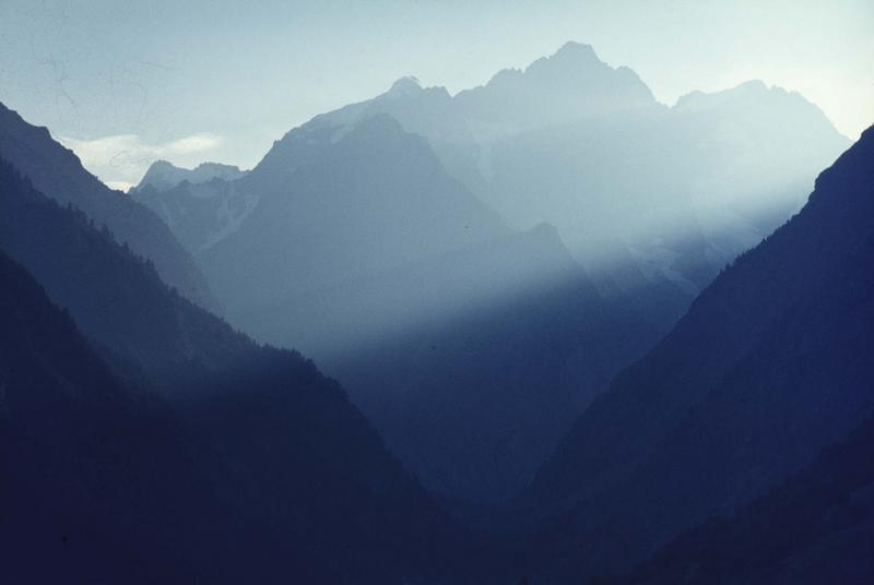 Montagnes du Massif des Ecrins