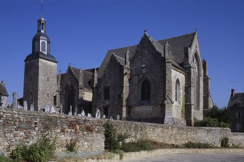 Ancienne collégiale, actuellement église Sainte-Marie-Madeleine