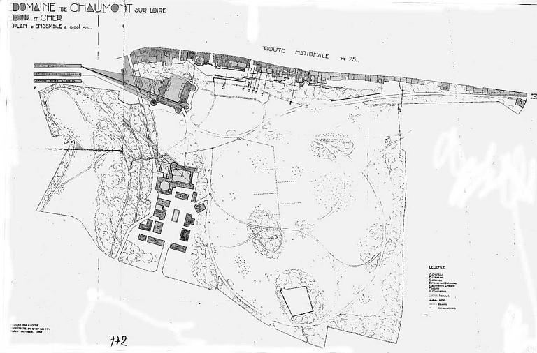 Plan général du domaine