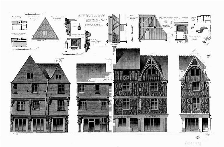 Elévations de façades
