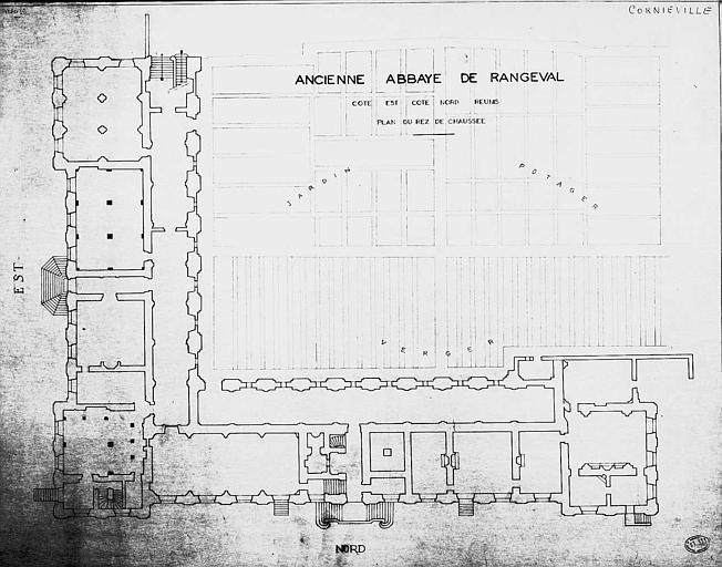 Plan du rez-de-chaussée