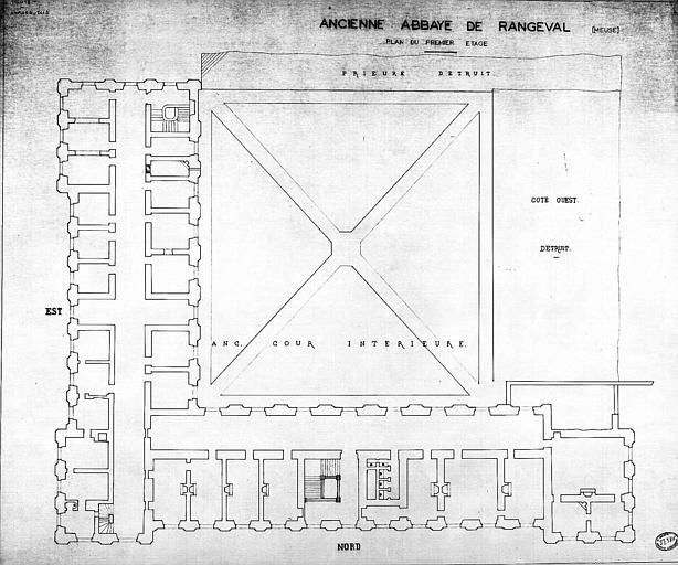 Plan du 1e étage