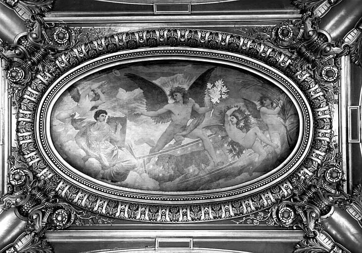 Peinture du salon ouest du Grand Foyer : Le Zodiaque