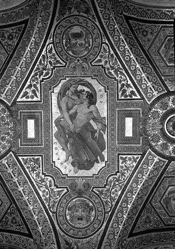 Mosaïque de l'Avant-foyer : L'Aurore et Céphale