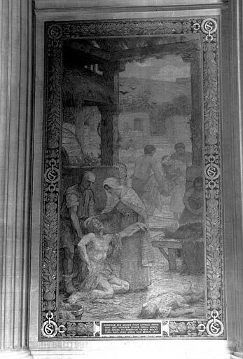 Peinture murale : L'idée de la peste (?)