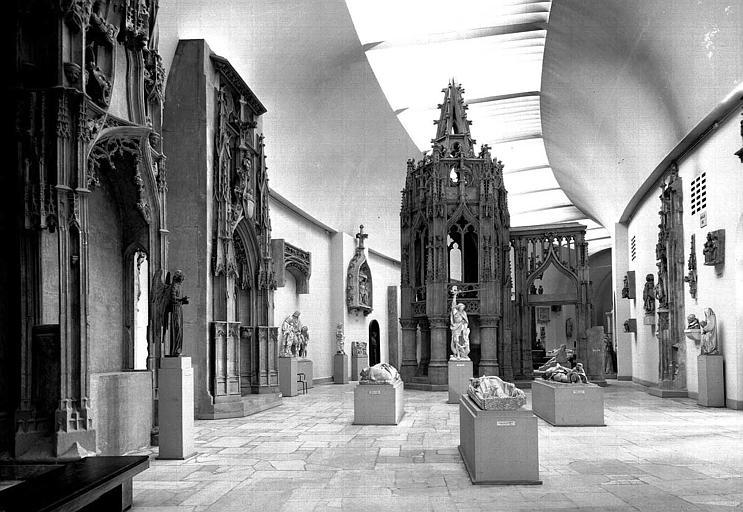 Musée des Monuments Français : Galerie des sculptures gothiques